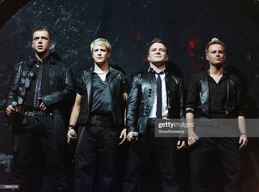 Westlife Play The Point In Dublin : News Photo