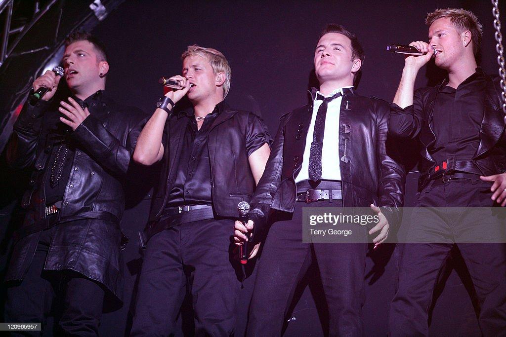 Mark Feehily, Kian Egan, Shane Filan and Nicky Byrne News