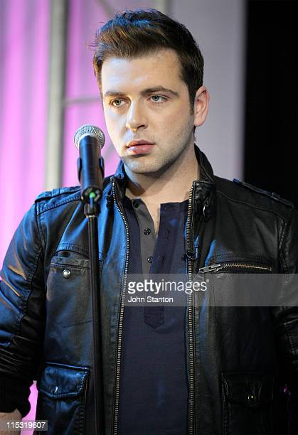 Mark Feehily of Westlife during Westlife InStore Performance at Channel 7 in Sydney November 23 2006 at Channe 7 in Sydney NSW Australia