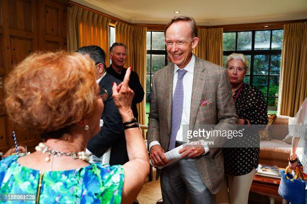 Mark Ferguson attends A Country House Gathering To Benefit Preservation Long Island on June 28 2019 in Locust Valley New York