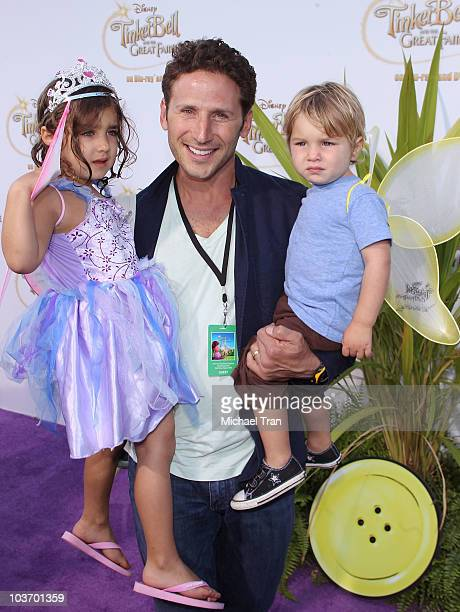 Mark Feuerstein arrives to the special screening of Tinker Bell And The Great Fairy Rescue held at La Cienega Park on August 28 2010 in Beverly Hills...