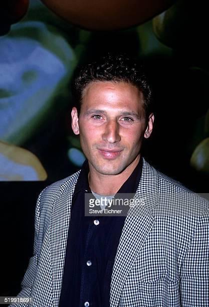 Mark Feuerstein at Hugo Boss store opening New York May 8 2001
