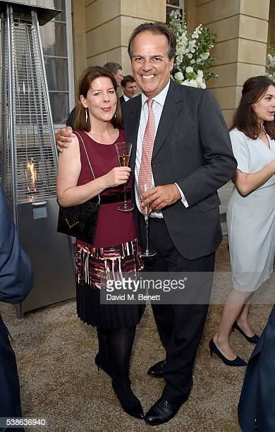 Mark Field MP and guest attend The Bell Pottinger Summer Party at Lancaster House on June 7, 2016 in London, England.