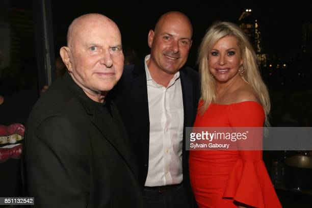 Mark Fleischman Tom D'Agostino and Gail Evertz attend Mark Fleischman and Friends Celebrate Inside Studio 54 at PHD Rooftop Lounge at Dream Downtown...