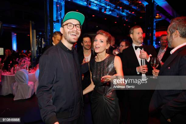 Mark Forster and Ella Endlich attend the German Television Award at Palladium on January 26 2018 in Cologne Germany