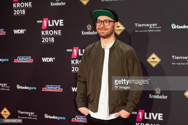 Mark Forster attends the 1Live Krone radio award at Jahrhunderthalle on December 6 2018 in Bochum Germany
