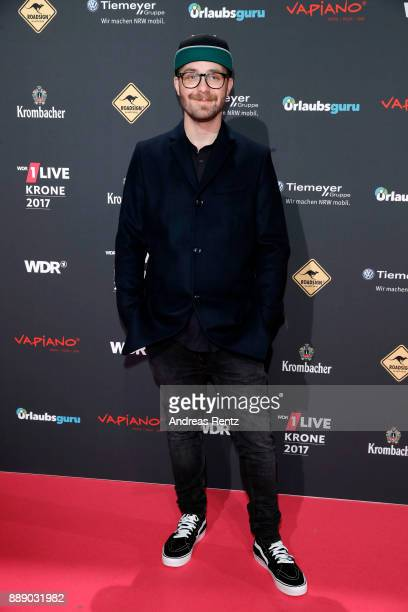 Mark Forster attends the 1Live Krone radio award at Jahrhunderthalle on December 07 2017 in Bochum Germany