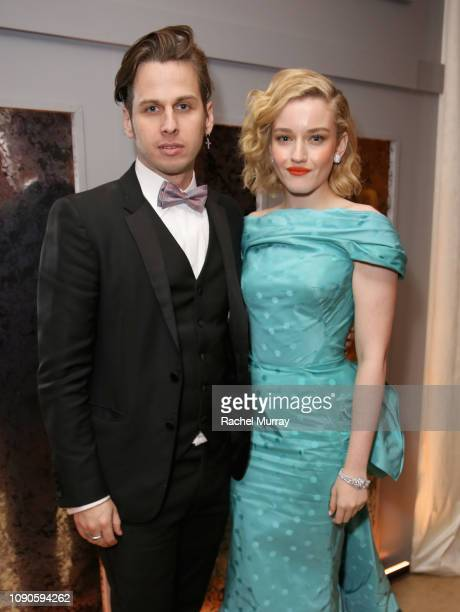 Mark Foster and Julia Garner attend Netflix 2019 SAG Awards after party at Sunset Tower Hotel on January 27 2019 in West Hollywood California