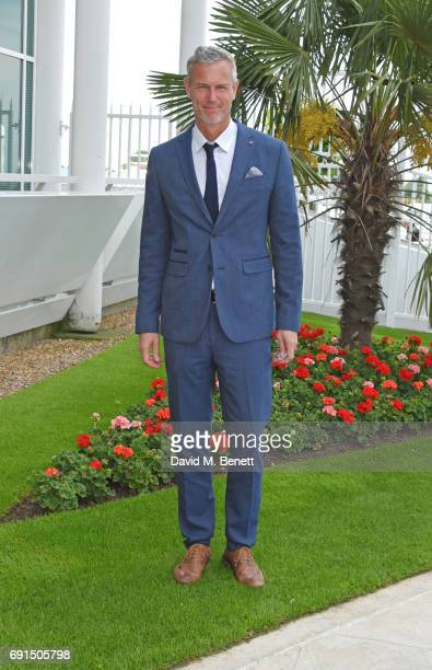 Mark Foster attends Ladies Day of the 2017 Investec Derby Festival at The Jockey Club's Epsom Downs Racecourse at Epsom Racecourse on June 2, 2017 in...