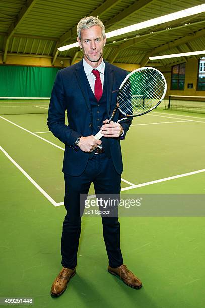 Mark Foster Eastern Seasons' ambassador attends The Goodwill Tennis Tournament at The Queen's Club on November 30 2015 in London England