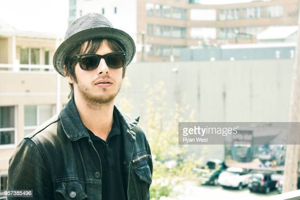 Mark Foster from Foster the People is photographed for Guttersnipe Magazine in May 2011 in Vancouver British Columbia PUBLISHED IMAGE