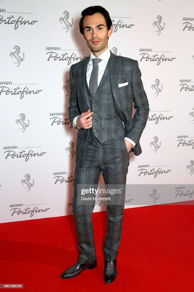 Mark francis attends the UK launch of the Ferrari Portofino at Kensington Olympia on November 29, 2017 in London, England.