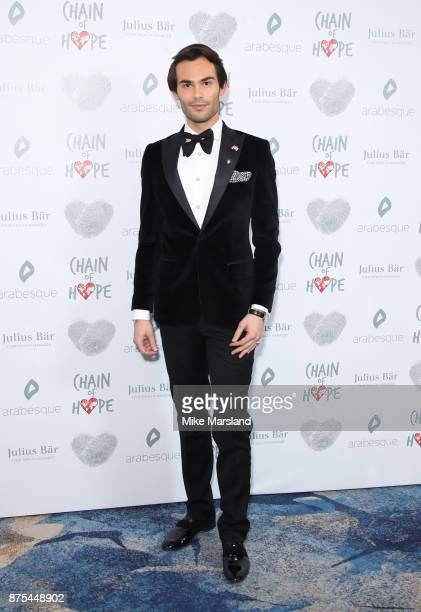 Mark Francis Vandelli attends the Chain Of Hope Gala Ball held at Grosvenor House on November 17 2017 in London England