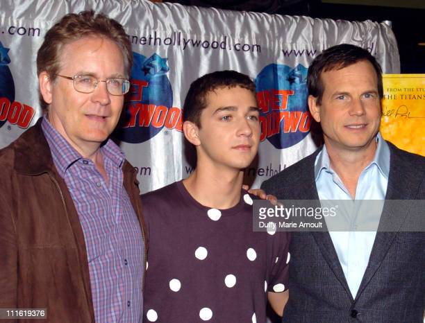 Mark Frost writerproducer Shia LaBeouf and Bill Paxton director