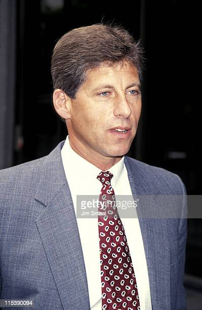 Mark Fuhrman during People vs O.J. Simpson Pre-Trial Hearing at Los Angeles County Courthouse in Los Angeles, CA, United States.