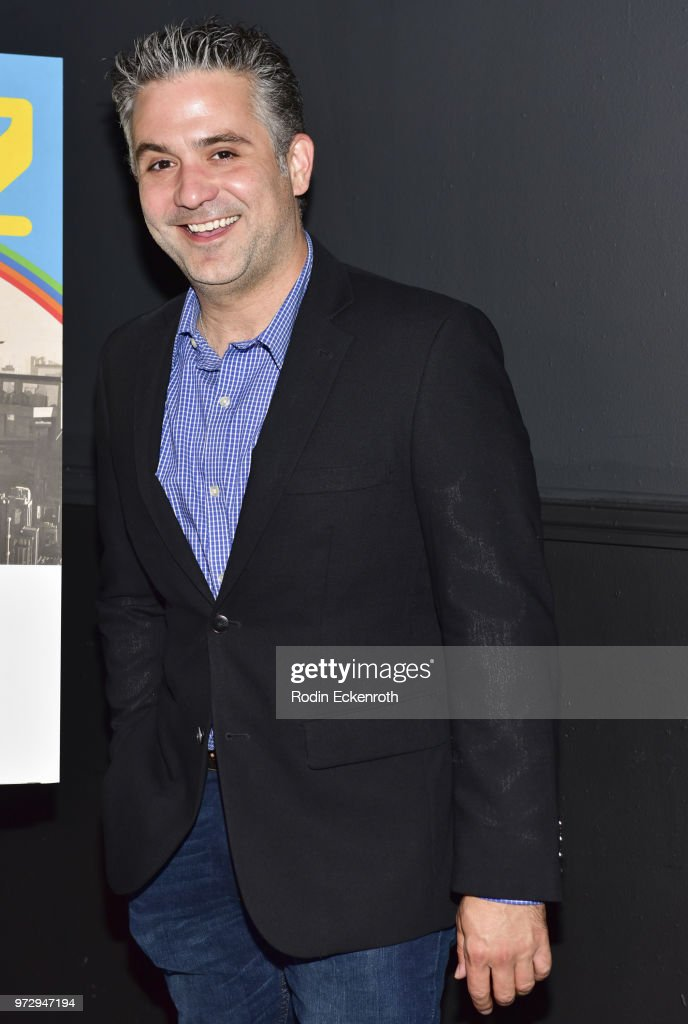 Mark Gagliardi at the MaximumFun.org Comedy Podcast photo call at Dynasty Typewriter at the Hayworth on June 12, 2018 in Los Angeles, California.