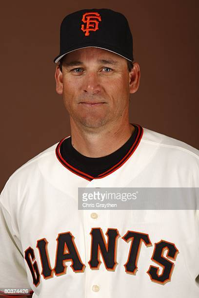 Mark Gardner of the San Francisco Giants poses for a photo during Spring Training Photo Day at Scottsdale Stadium in Scottsdale Arizona