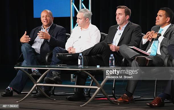 Mark Garner SVP Distribution AE Networks Alex Wellen Chief Product Officer CNN Digital Jonathan Freeland VP Video Product Marketing Cox...