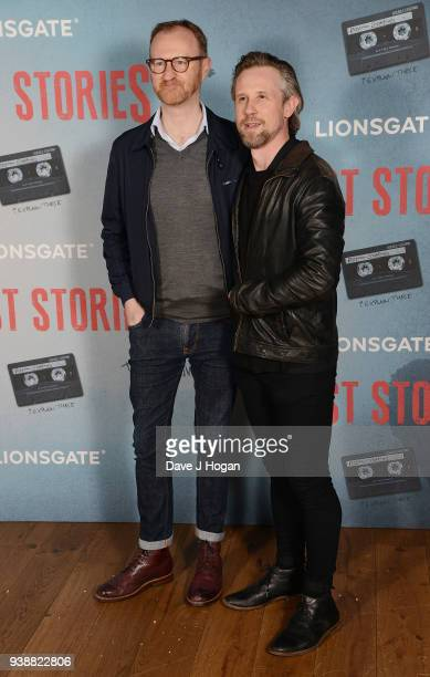Mark Gatiss and Ian Hallard attend the 'Ghost Stories' special screening atVue West End on March 27 2018 in London England