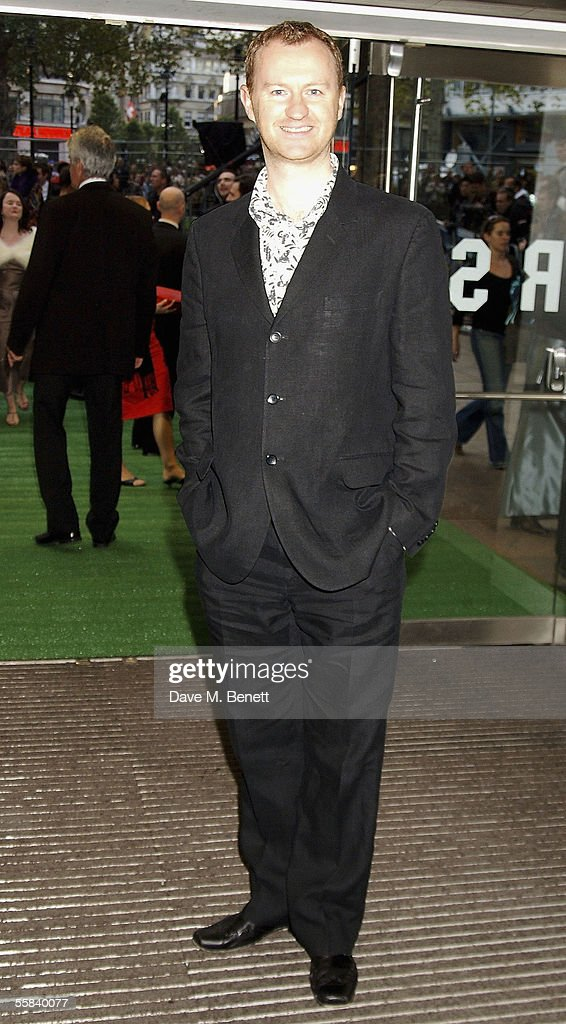 Mark Gatiss arrives at the UK Charity premiere of animated film 'Wallace & Gromit: The Curse Of The Were-Rabbit' at the Odeon West End on October 2, 2005 in London, England. The premiere is in aid of Wallace & Gromit Children's Foundation.