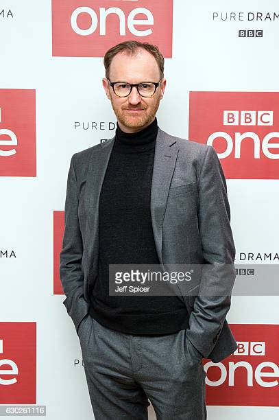 Mark Gatiss attends a screening of the Sherlock 2016 Christmas Special at Ham Yard Hotel on December 19, 2016 in London, England.