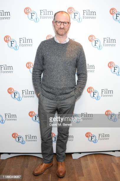 "Mark Gatiss attends the BBC preview screening of ""Martin's Close"" at the BFI Southbank on December 11, 2019 in London, England."