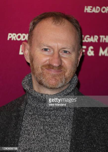 "Mark Gatiss attends the ""Death Drop"" press night at Garrick Theatre on December 10, 2020 in London, England."