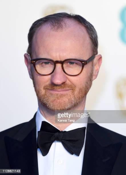 Mark Gatiss attends the EE British Academy Film Awards at Royal Albert Hall on February 10, 2019 in London, England.