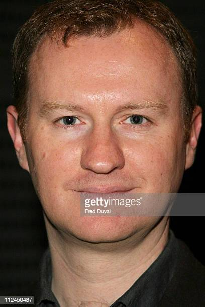Mark Gatiss during British Book Awards 2006 Shortlist Announcement at Grosvenor House Hotel in London Great Britain