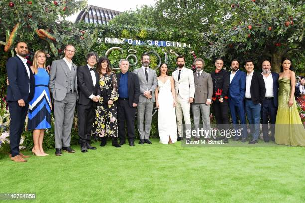 Mark Gatiss, Neil Gaiman, Josie Lawrence, Douglas Mackinnon, Jon Hamm, Adria Arjona, David Tennant, Michael Sheen, Rob Wilkins, guests, Paul Chahidi...