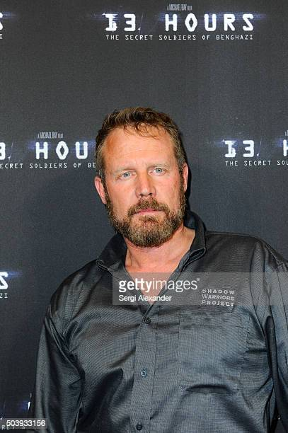 Mark Geist attends Miami Special Screening of '13 Hours The Secret Soldiers of Benghazi ' at Aventura Mall on January 7 2016 in Miami Florida