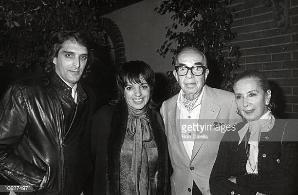 Mark Gero Liza Minnelli Vincente Minnelli and wife Lee Minnelli