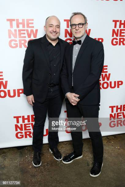 Mark Gerrard and Tom Broecker attend The New Group 2018 Gala at Tribeca Rooftop on March 12 2018 in New York City