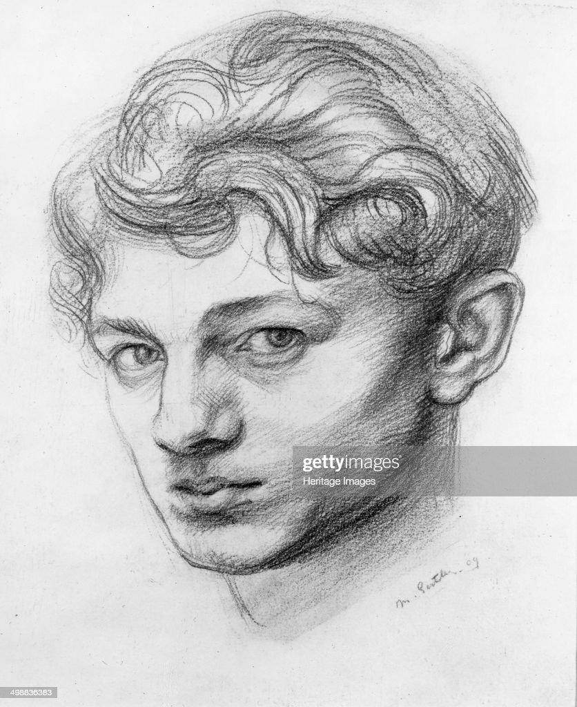 Mark Gertler , British artist - Self Portrait  News Photo - Getty Images