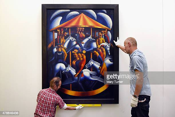 Mark Gertler's MerryGoAround is installed as it returns to Ben Uri on loan for the first time since its sale to Tate in 1984 This rarelylent...