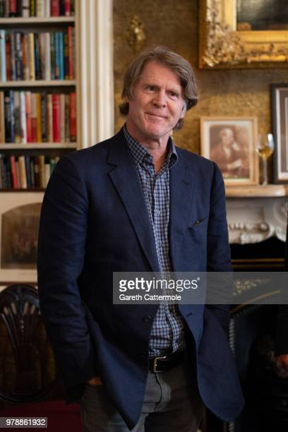 Mark Getty attends the launch of Mark Getty's book 'Like Wildfire Blazing' published by Adelphi Publishers on June 19 2018 in London England