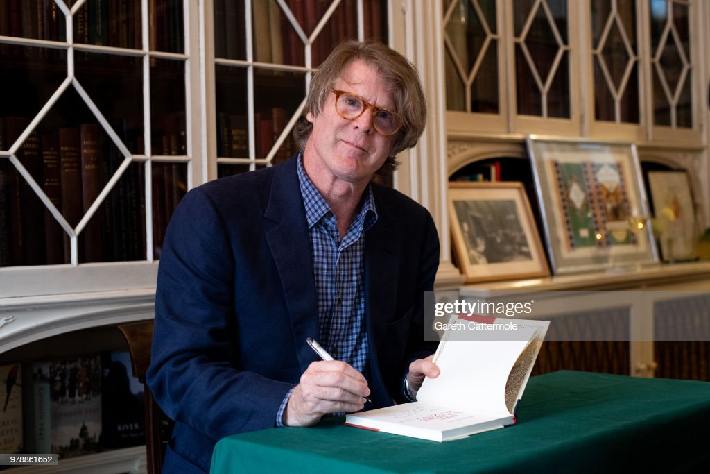 "Mark Getty Launches His New Book ""Like Wildfire Blazing"" Published By Adelphi Publishers"