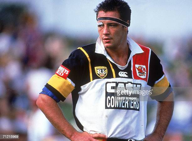 Mark Geyer of the Western Reds looks dejected during a ARL match held in Sydney, Australia.