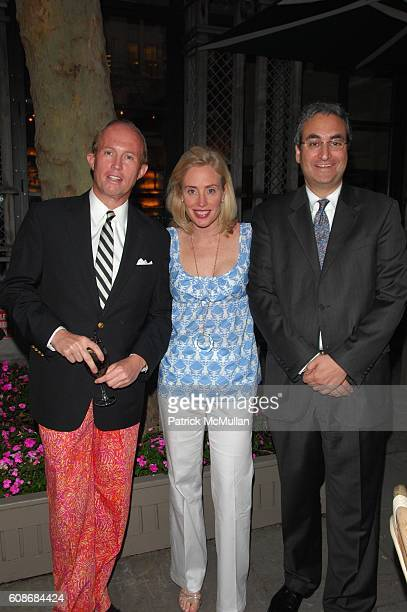 Mark Gilbertson Amy Hoadley and Warren Scharf attend LILLY PULITZER and THE ASSOCIATES COMMITTEE hosts A PARTY IN THE PARK benefit for LENOX HILL...