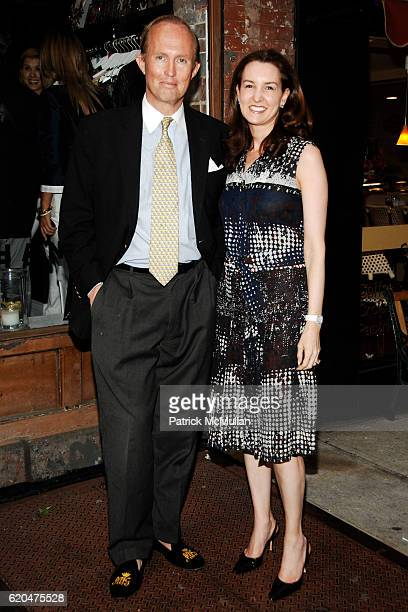 Mark Gilbertson and Alexia HammRyan attend HANLEY Flagship Store Launch at HANLEY on June 3 2008 in New York City