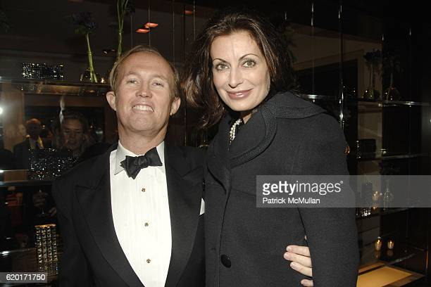 Mark Gilbertson and Marina Kilroy attend JUDITH LEIBER PER SE and The Associates Committee Host a Benefit for LENOX HILL NEIGHBORHOOD HOUSE at Judith...