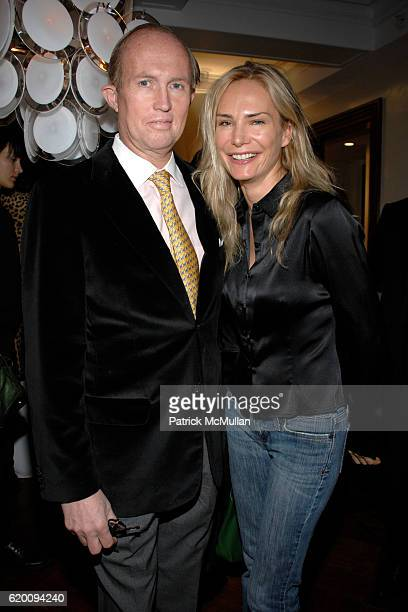 Mark Gilbertson and Valesca GuerrandHermes attend VIVRE 2008 Spring/Summer Preview Collection hosted by EVA JEANBARTLORENZOTTI at 995 Fifth Ave on...