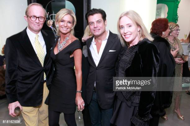 MArk Gilbertson Lisa Selby Douglas Hannant and Amy Hoadley attend GEOFFREY BRADFIELD'S 'THE QUICK AND THE DEAD' Opening at Sebastian Barquet Gallery...