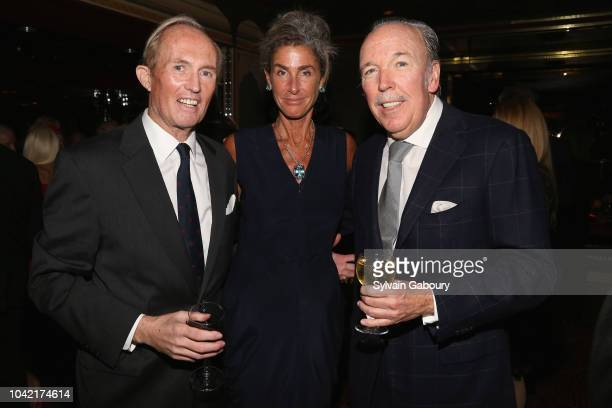 Mark Gilbertson Somers Farkas and Pepe Fanjul attend David Patrick Columbia And Chris Meigher Toast The QUEST 400 At DOUBLES on September 27 2018 in...