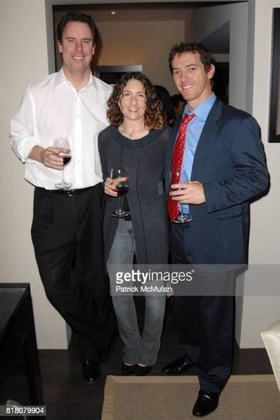Mark Gill Hanna Weg and Jeremy Plager attend David Meister and Alan Siegel Host Private Party to Celebrate Alexandra Lebenthal's New Novel THE...
