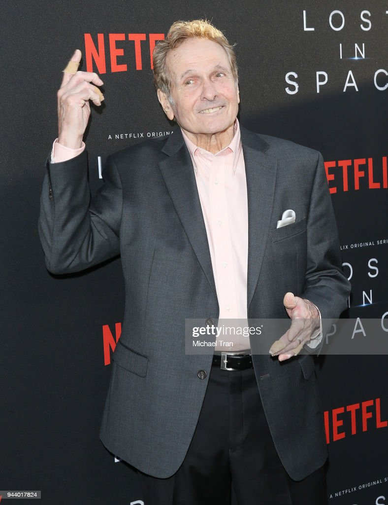 Mark Goddard arrives to the Los Angeles premiere of Netflix's 'Lost In Space' Season 1 held at The Cinerama Dome on April 9, 2018 in Los Angeles, California.