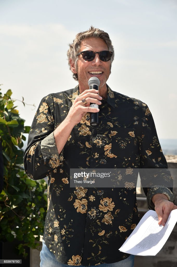 Mark Goodman attends REO Speedwagon Receives RIAA Diamond Award For 'Hi Infidelity' at Sony Music on August 17, 2017 in New York City.