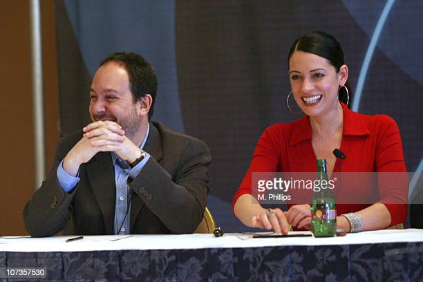 Mark Gordon Executive Producer and Paget Brewster of 'Criminal Minds'