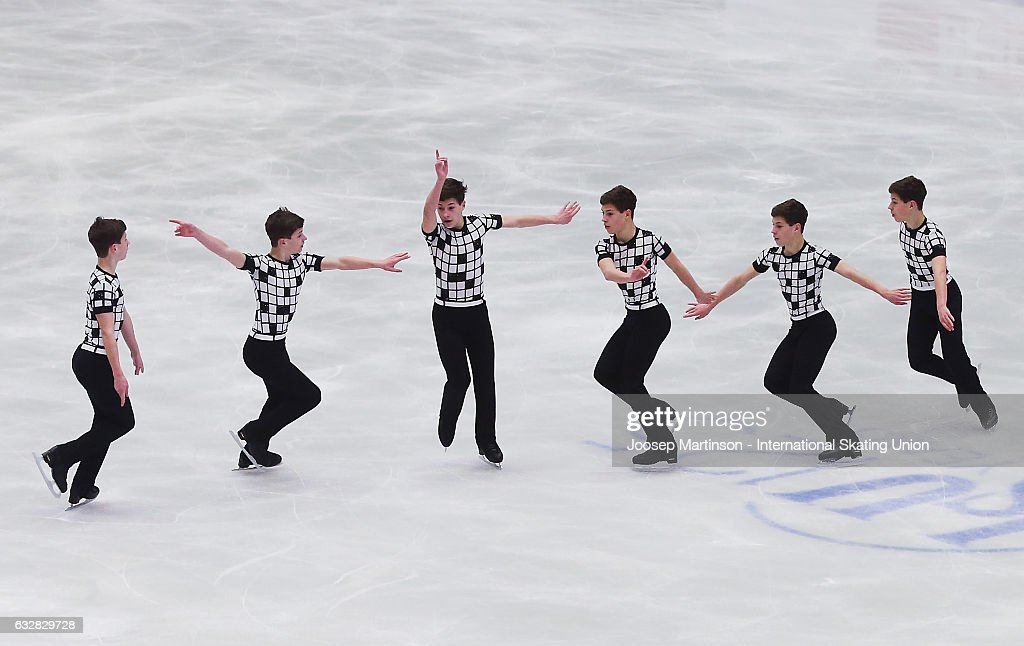 Mark Gorodnitsky of Israel competes in the Men's Short Program during day 3 of the European Figure Skating Championships at Ostravar Arena on January 27, 2017 in Ostrava, Czech Republic.