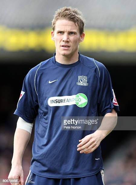 Mark Gower of Southend United in action during the Coca Cola League One Match between Southend United and Northampton Town at Roots Hall on April 12...